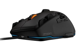 Roccat Tyon All Action Multi-Button Gaming Laser-Maus (8200dpi, 14-Tasten, USB) schwarz - 1