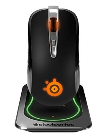 SteelSeries Sensei Wireless Gaming Maus silber metallic - 1
